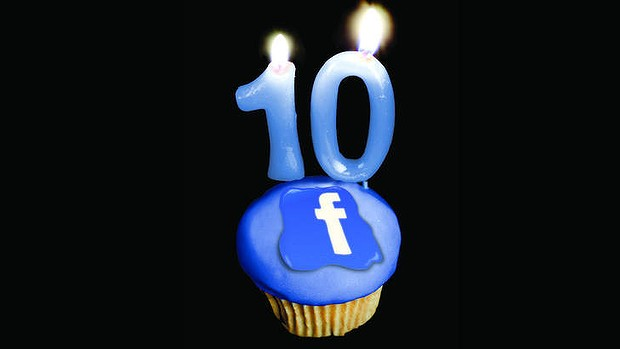 Facebook Turns Ten